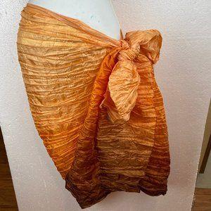 "Other - Sarong Scarf Wrap Pareo Shawl  40"" x 70"""
